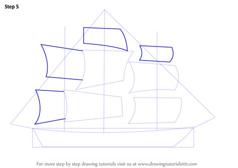 how to draw a boat for a kid learn how to draw a ship for kids boats and ships step