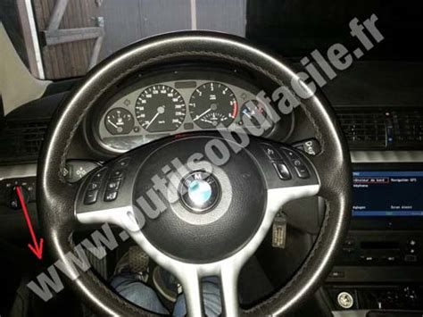 dashboard bmw e46 obd2 connector location in bmw serie 3 e46 1998 2006
