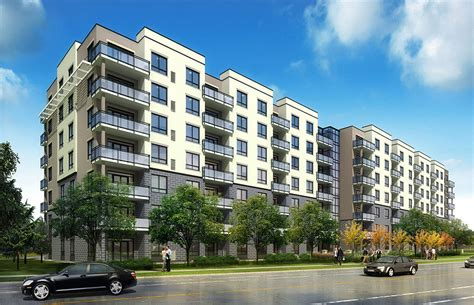 Appartment Building by Killam Properties Inc Begins Construction Of 122 Unit