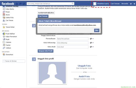 Cara Membuat Email Baru Buat Facebook | cara daftar facebook baru gratis buat akun fb baru cuma