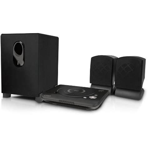 coby dvd420 2 1 channel dvd home theater system dvd420 b h