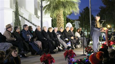 luxur lighting st george ut temple grounds light up annual holiday lighting ceremony