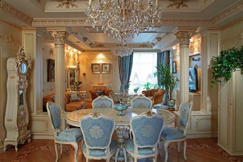 Kitchen And Dining Interior Design by Baroque Style Interior Design Ideas