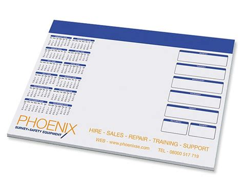 a3 desk planner pad phoenix survey safety equipment a3 desk pads