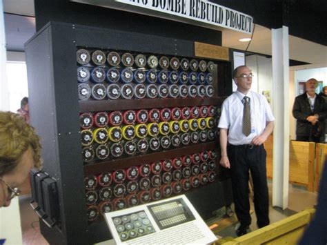 turing machine recreation of alan turing s bombe machine that helped to