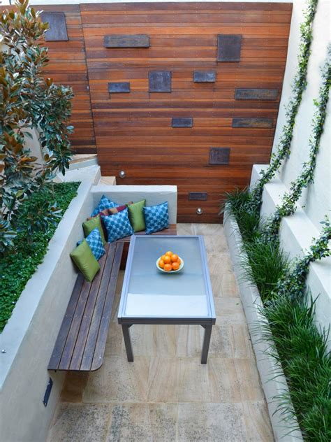 pictures  tips  small patios hgtv