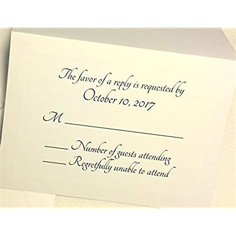 Wedding Rsvp Response Cards rsvp cards wedding