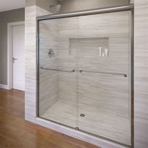 Kohler Fluence 47 5 8 In X 70 5 16 In Semi Frameless Frameless Shower Glass Door
