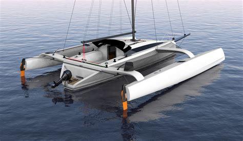 trimaran grainger tr42 performance trimaran grainger designs multihull yachts