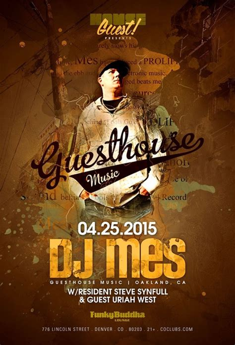 house of music oakland dj mes guesthouse music oakland ca tickets funky buddha denver co