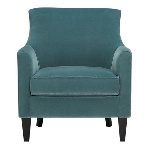 blue velvet chair for the home