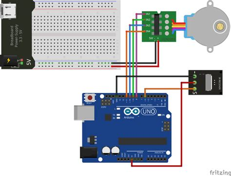 arduino code to control motor control a stepper motor with an arduino and ir remote
