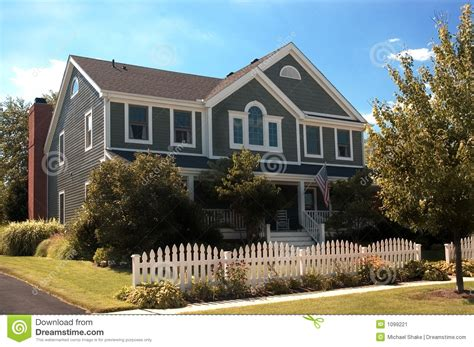 american country style homes house stock image image 1099221