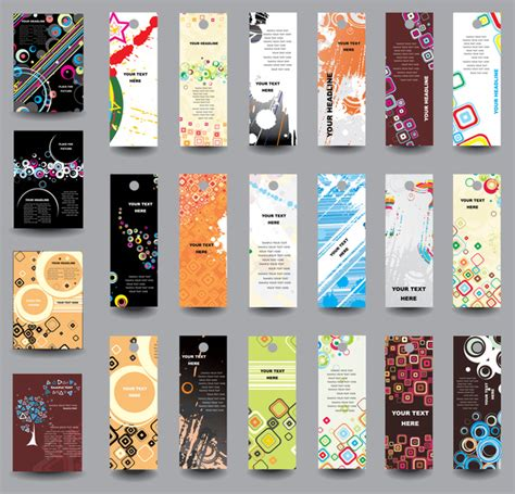 free bookmark design template free bookmark designs free vector 176 free
