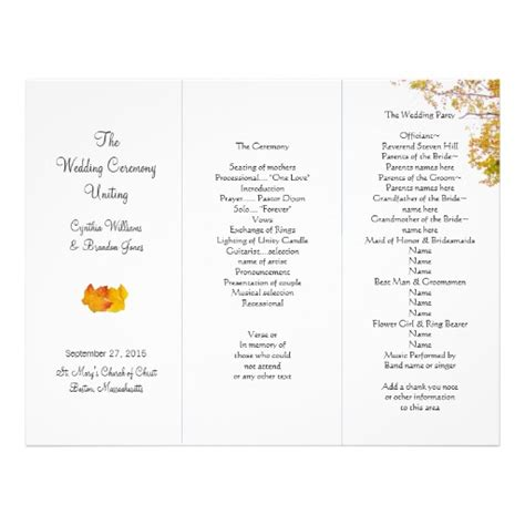 6 Best Images Of Tri Fold Wedding Program Templates Free Tri Fold Wedding Program Templates Free Tri Fold Wedding Brochure Templates