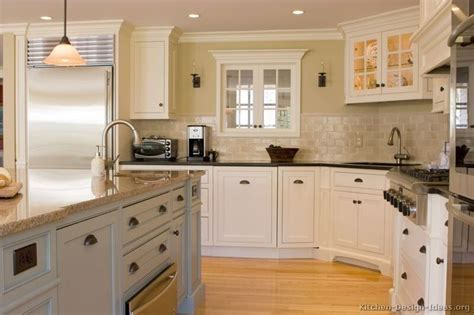 Early American Kitchen Cabinets Early American Kitchens From Kitchen Design Ideas Org For The Home Pinterest White