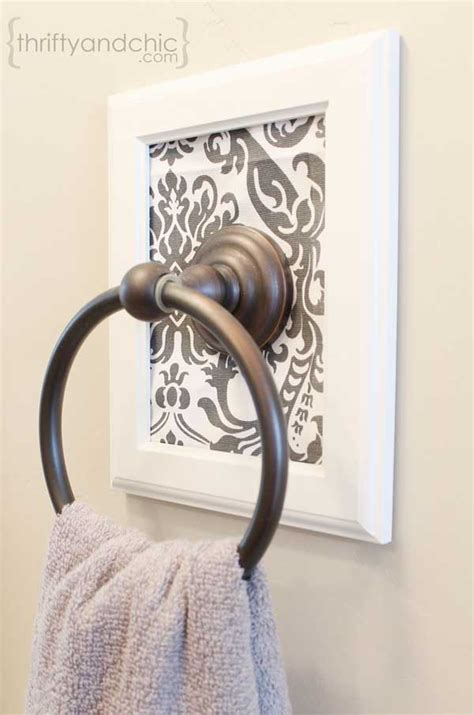 decorative towel holders bathroom 32 of the most genius diy projects to keep bath towels