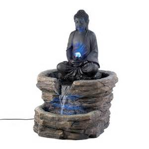 Buddha Home Decor Statues by Garden Fountain With Buddha Statue Garden Buddha Statues