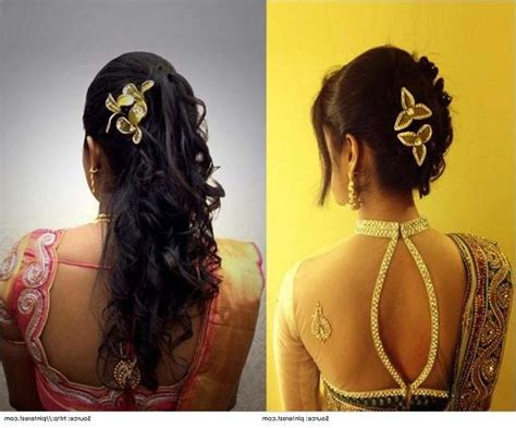 top 10 indian wedding hairstyles for sarees 15 photo of long hairstyles in kerala