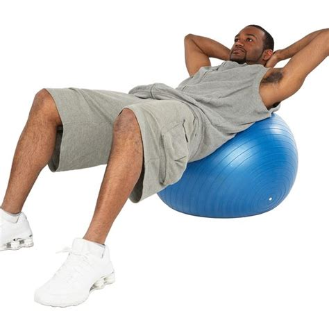 do exercise balls really you get a flat stomach healthy living