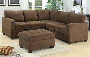 Suede Sectional Sofa Truffle Waffle Suede Modern Casual Sectional Sofa W Options