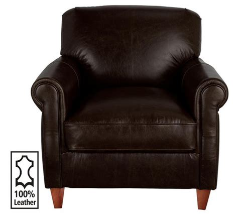 brown leather armchair argos buy of house kingsley leather club chair brown at