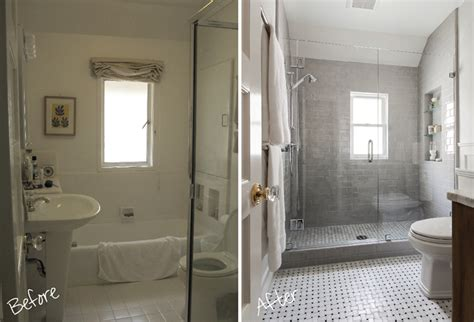 Before And After Shower by Impressing Foresthill Beforeafter In Bathroom Remodels Before After