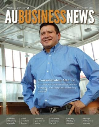 Athabasca Mba Login by Aubusinessnews 2013 By Au Business News Issuu