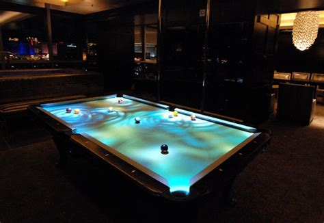 Digital Pool Table by Obscura Digital Shows Cuelight Interactive