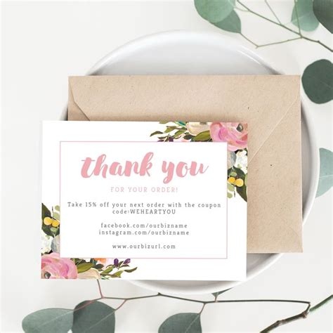 Business Thank You Card Template by Best 25 Business Thank You Cards Ideas On