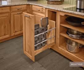 Kitchen Cabinet Storage Organizers Kraftmaid Kitchen Tray Baking Sheet Storage Rustic Pantry And Cabinet Organizers