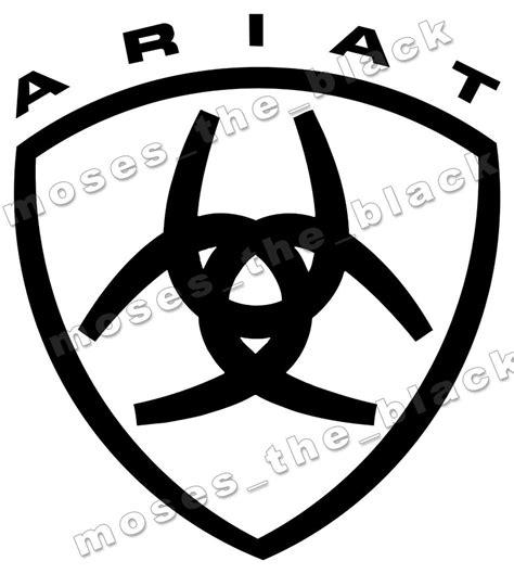 Ariat Sticker ariat decal vinyl sticker western style cowboy h q