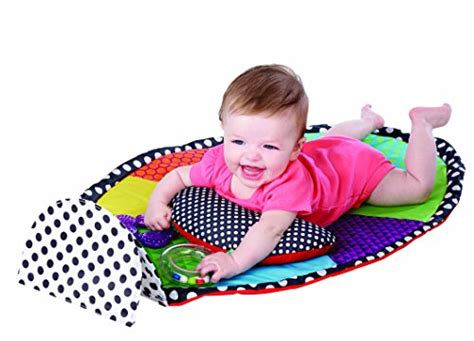 Sassy Tummy Time Mat by Seller Profile Materialmommy