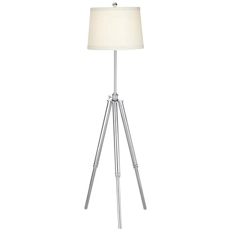 pacific coast lighting tripod floor l in chrome and