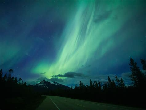 northern lights canada 2017 the best place to see the northern lights in canada