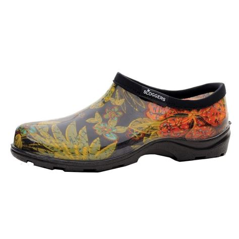 S Garden Shoes by Sloggers S Garden Midsummer Black Size 6 Step In