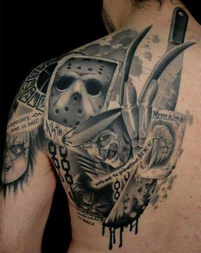 horror movie tattoos rebel circus