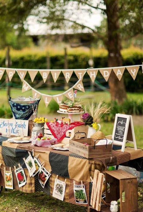 themed party house farm themed birthday party ideas home party ideas