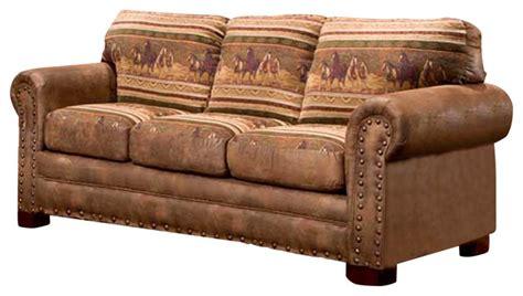 american furniture classics horses sofa horses sleeper sofa traditional sleeper sofas