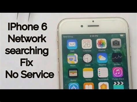 fix iphone  signal issue  service searching