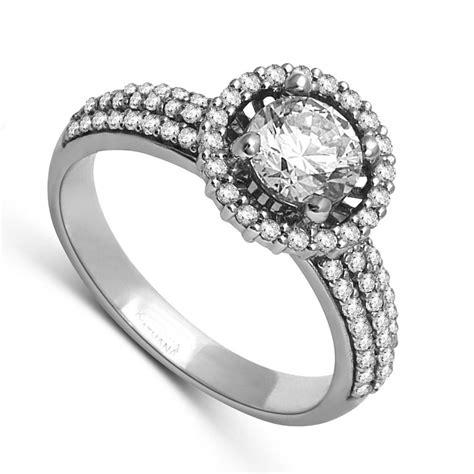 luxurious halo cheap engagement ring 1 00 carat cut