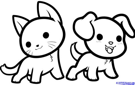 cat and drawing drawing of cat and how to draw kawaii animals stepstep anime animals anime