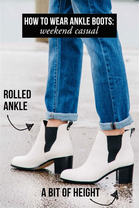 how to wear ankle booties the everygirl