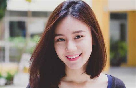 model rambut pendek wanita korea   modern