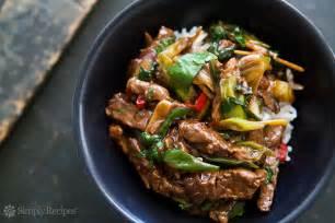 stir fry ginger beef recipe simplyrecipes com