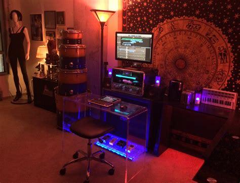 Home Recording Studio Using Mac Mac Setup Audio Mixing Engineer S Studio With A