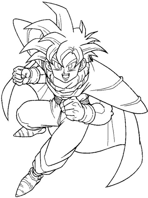 goku coloring pages goku coloring pages free printable goku coloring pages
