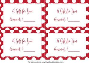 free printable gift card envelopes yellow bliss road