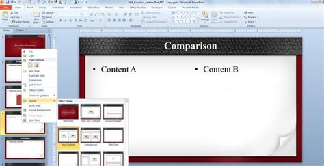 how to create an executive summary using a powerpoint