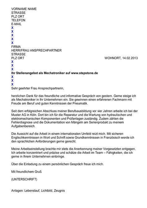 "www.bewerbungs 1x1.de   Mustervorlagen ""M"""